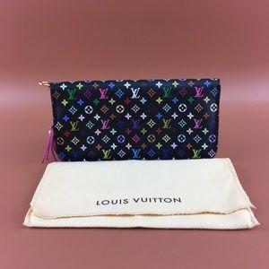Preowned LV Multicolor Monogram Insolite Wallet
